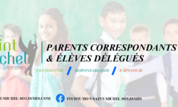 Parents correspondants et eleves delegues