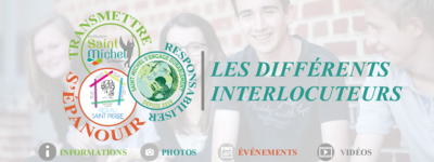 Les differents interlocuteurs